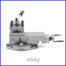 Mini AT300 Lathe Tool Accessory Metal Change Metalworking Lathe Post Assembly