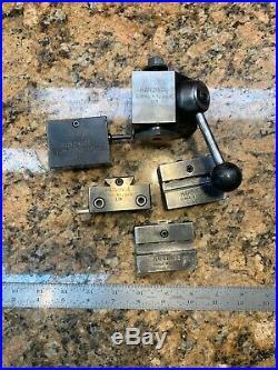 Mint! Hardinge Quick Change Tool Post Set L18, L21x2, L19, L23, InvL406