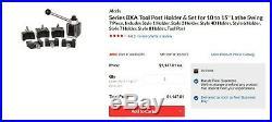 NEW Aloris BXA Quick Change Lathe Tool Post 7 pc Holder Set & #10 Knurling Tool
