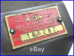 NICE! KDK-100 SERIES QUICK CHANGE LATHE TOOL POST 12 to 16 SWING