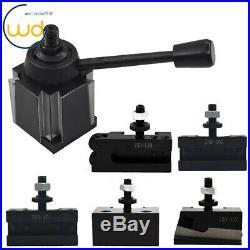 New AXA Size 250-111 Set Wedge Type Quick Change Tool Post Set for Lathe 6- 12