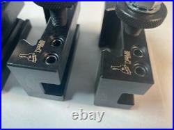 New DORIAN USA PRECISION AXA Wedge Style Quick Change Tool Post Holder 5pc Set