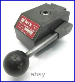 Nix B Series Quick Change Lathe Tool Post Compatible With Kdk Holders