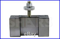 OUT OF STOCK 90 DAYS SHARS 14-20 CA Quick Change CNC Tool Post #1 Turning Facin