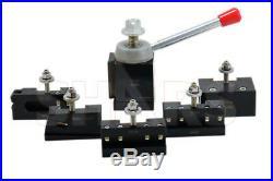 OUT OF STOCK 90 DAYS Shars 13-18 CNC Lathe CXA Piston Quick Change Tool Post Se