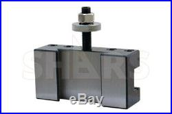Out Of Stock 90 Days Shars Ca #2 Quick Change Turning Facing & Boring Tool Post