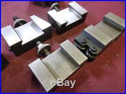 Phase 11, 250-200, Lathe Quick Change Tool Post & 5 Holders Loc7487