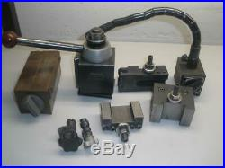 Phase 2 II 250-200 Quick Change Tool Post with Holders and Accessories