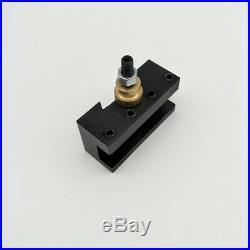 Quick Change Post Holder Kit 9pcs 3/8 Boring Bar Turning Tool CNC Lathe O4O1