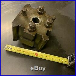 Quick Change Tool Post Holder For Lathe Rapidue Same As Dickson Colchester