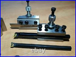 Quick Change Tool Post Set For Mini Lathes T37 Myford Ml7 Super 7 Model Engineer