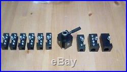 Quick Change Toolpost For Mini Lathe 7x10, 7x12, 7x14