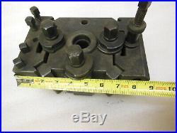 SCHAEFER Type C large Quick Change Toolpost for Lathe 9 x 6 heavy duty