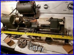 Sears Craftsman 6 metal lathe model 109 bench top + Quick Change Tool Post