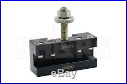Shars 10 15 Swing CNC Lathe BXA Wedge Quick Change Tool Post