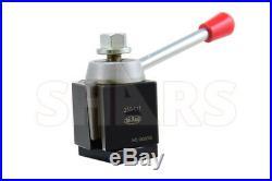 Shars 6 12 CNC Lathe AXA Wedge Quick Change Tool Post Set NEW