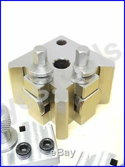 T37 Quick Change Tool Post Set 37mm Suitable For Myford / Super 7 5PC Set
