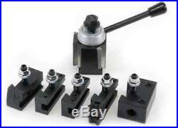 Up To 8 Mini Quick Change Tool Post & Holder Set Wedge Type Oxa