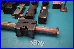 Used Kdk 107629 Quick Change Lathe Tool Post With Holders