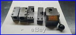 Vintage Kdk 100 Series Quick Change Tool Post With 4 Tool Holders