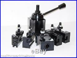 Wedge Type Quick Change Toolpost Set Axa 251-111 Tool Post, Free Shipping